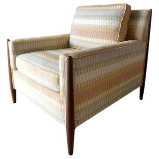 1950s Vintage Jules Heumann for Metropolitan Furniture Lounge Chair For Sale