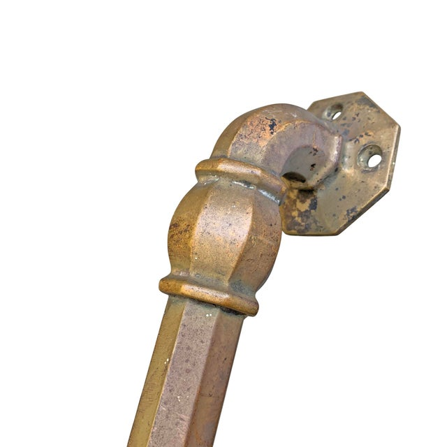 Metal Early 20th Century Bronze Handles-Set of 4 For Sale - Image 7 of 9