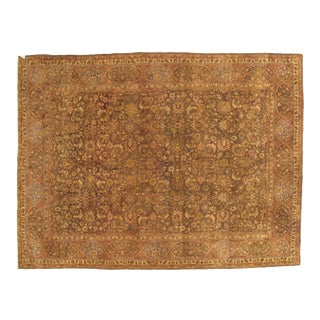 Early 20th Century Antique Tabriz Persian Rug-9′ × 12′ For Sale