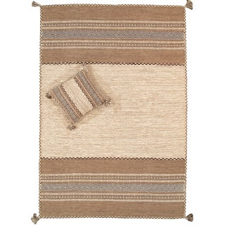 """Pasargad Rustic Kilim Collection Rug - 5'4"""" X 7'8"""" For Sale"""