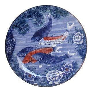 Japanese Porcelain Serving Plate For Sale