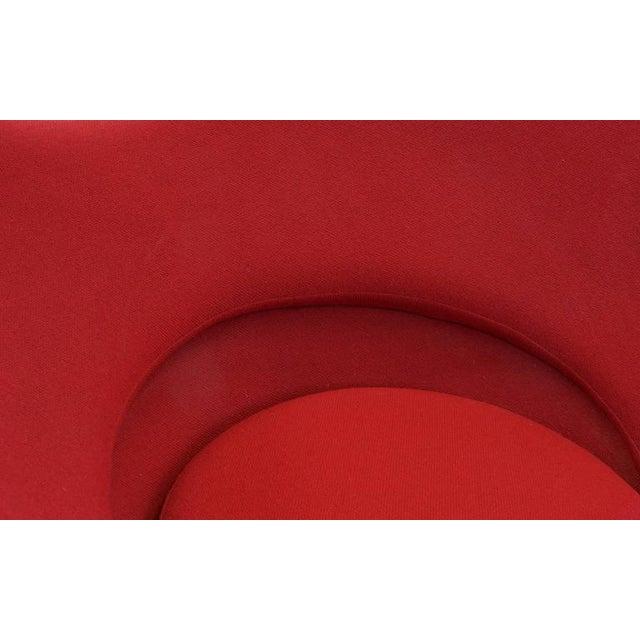 Metal Vintage Original Verner Panton Cone Heart Chair for Plus-Linje For Sale - Image 7 of 9