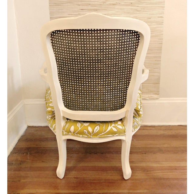 Early 20th Century 20th Century French Country Cane Back Chairs - a Pair For Sale - Image 5 of 11