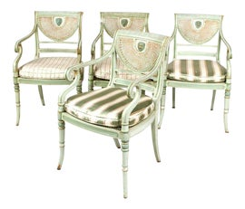 Image of Georgian Accent Chairs