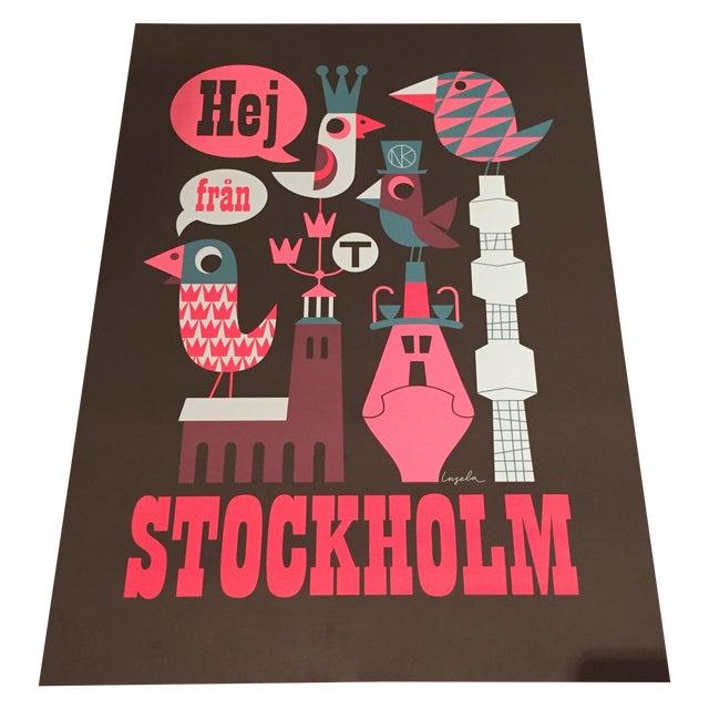 Graphic Pop Stockholm Print - Image 1 of 4