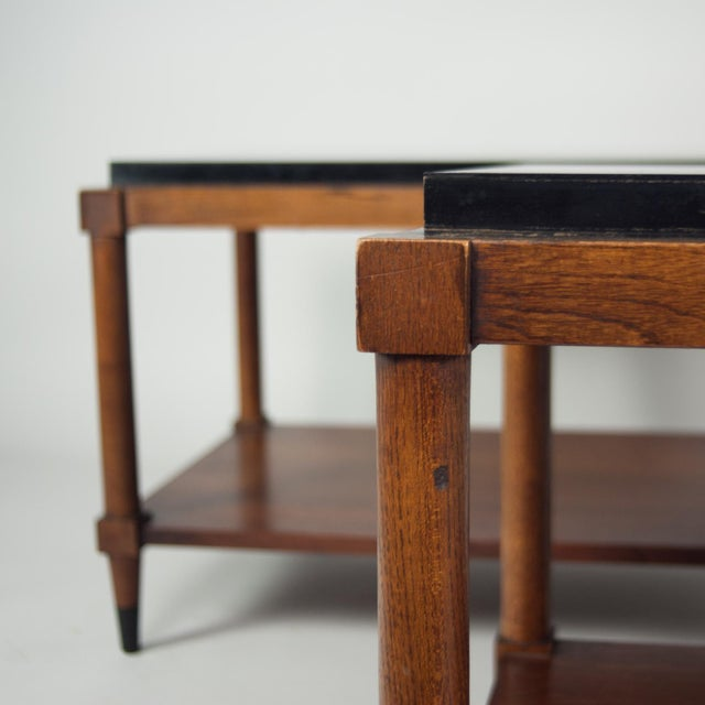 Mid-Century Modern 1950's Lane Tiered Side Table For Sale - Image 3 of 3
