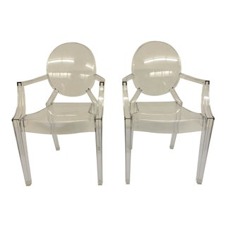 Kartell Children's Ghost Chairs - a Pair