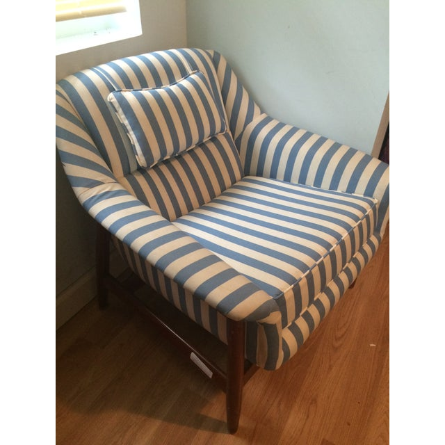 Set of 2 Mid Modern Scandinavian Style Side Chairs - Image 3 of 6