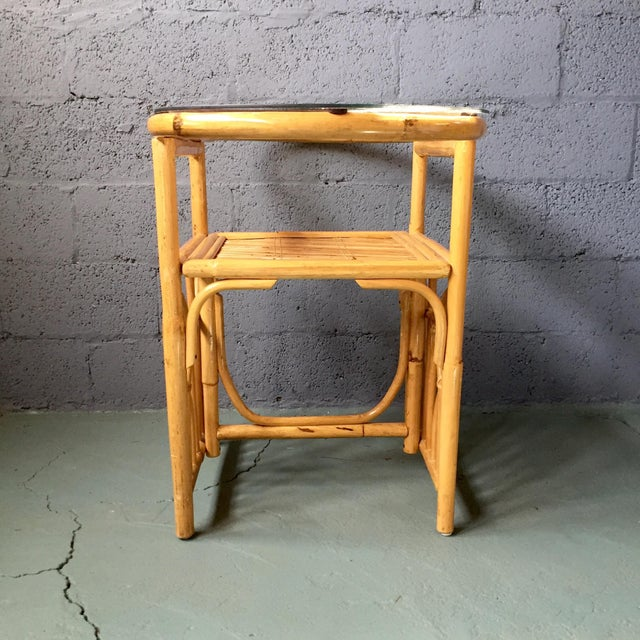 Vintage 1980s Bamboo Dining Set For Sale In Philadelphia - Image 6 of 11
