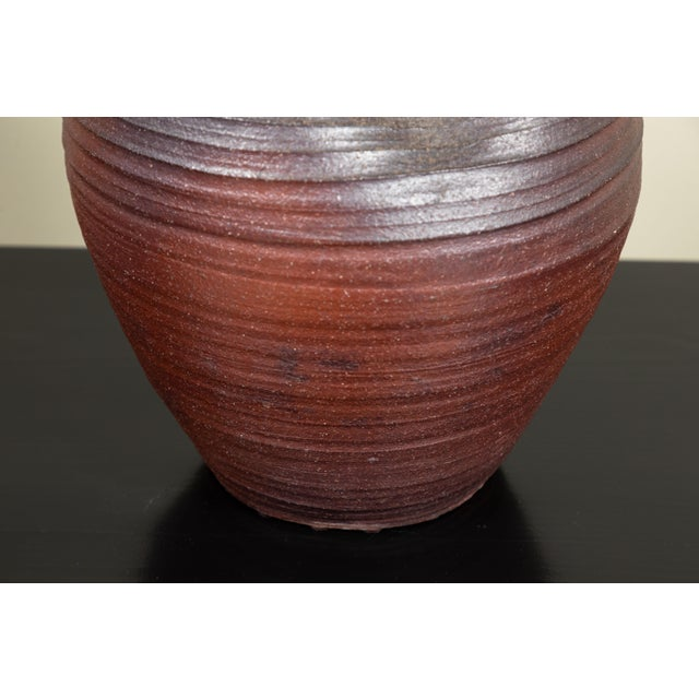 Traditional hand thrown Japanese Bizen pottery. Made in Bizen Province.