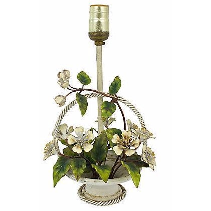 Italian Hand-Painted Tole Lamp - Image 1 of 7