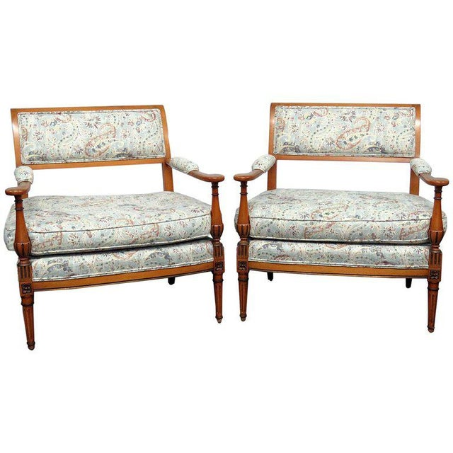 Louis XVI Style Marquis- A Pair For Sale In Philadelphia - Image 6 of 6