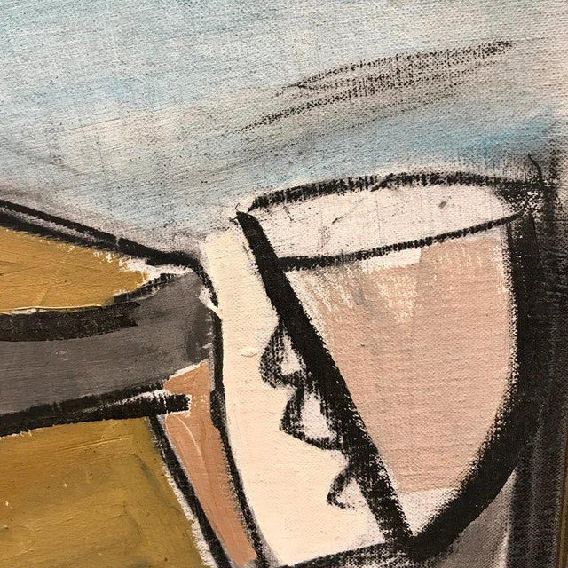 Lucia Lopez Cubist Nude, 1960s For Sale In Atlanta - Image 6 of 9