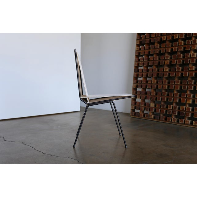 Mid-Century Modern Mid-Century Modern Allan Gould String Steel Chairs - Set of 4 For Sale - Image 3 of 13