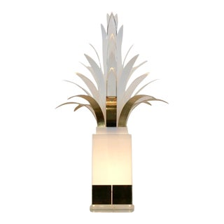 Rare Mid-Century Palm Tree Lamp by Peter Doff, Netherlands 70s For Sale