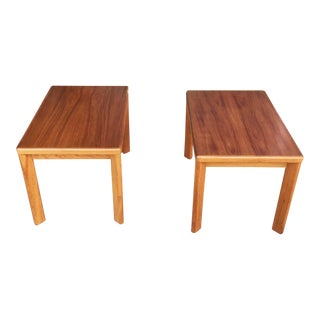 Vejle Stole Og Mobelfabrik Danish Teak Side Tables - a Pair For Sale