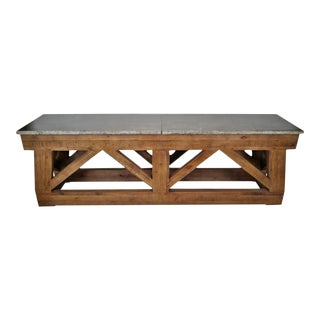 Greystone Farm Console Table For Sale