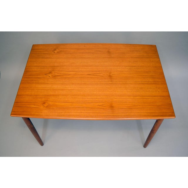 1960s Danish Teak Dining Table - Image 3 of 11