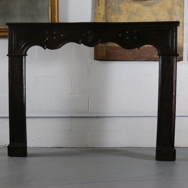 Mid 18th Century 18th Century French Carved Mantle For Sale - Image 5 of 5