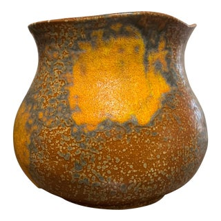 Royal Haeger Orange Peel Vase For Sale