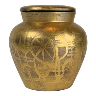 Mid 20th Century Brastoff Lidded Urn For Sale