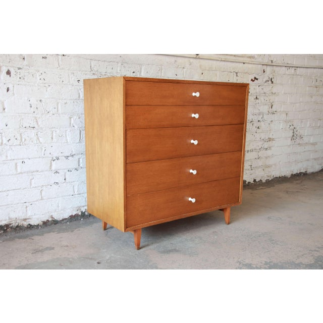 George Nelson for Herman Miller Thin Edge Dresser, Model 4620 For Sale - Image 10 of 11