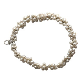 Pearl Cluster Choker For Sale