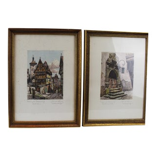 Pasargad N Y Printing Paintings - a Pair For Sale