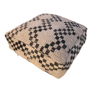 Moroccan Berber Unstuffed Pouf For Sale