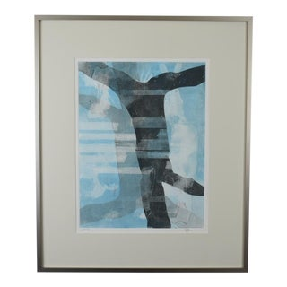 'Louisa' Monotype Print by Joan Ffolliott For Sale