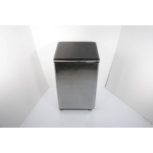 1940's Jamestown Polished Metal File Cabinet - Image 3 of 5
