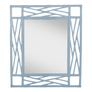 Chippendale Mirror - Blue For Sale