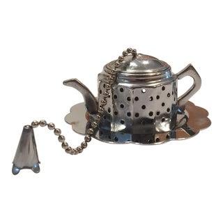 Vintage Alfred E. Knobler & Co Tea Infuser For Sale