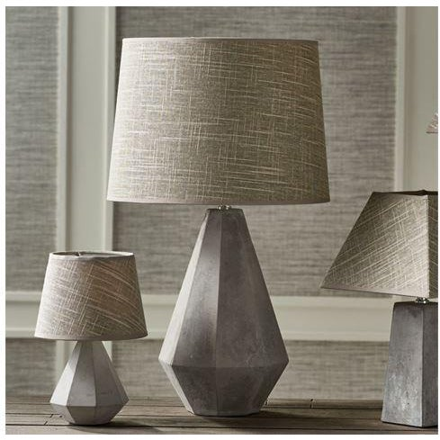 THE REX LAMP In an unexpected mix of linen and concrete, the Rex Lamp adds masculine and feminine appeal. At home in any...