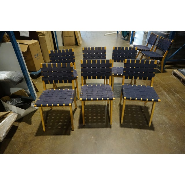 Knoll Risom Chairs - Set of 6 - Image 2 of 8