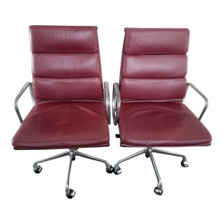 Charles & Ray Eames Aluminum Desk Chair by ICF - A Pair
