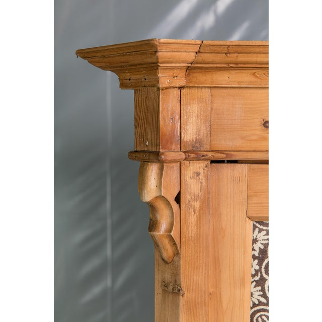 19th Century English Pine Armoire - Image 11 of 11