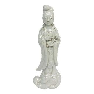 Blanc De Chine Figurine For Sale