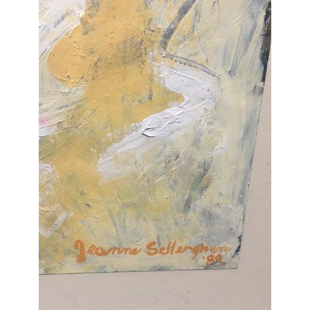 """""""Heaven's Door"""" Abstract Painting - Image 5 of 6"""