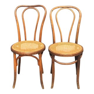 Fischel Thonet Style Bentwood Chairs - A Pair