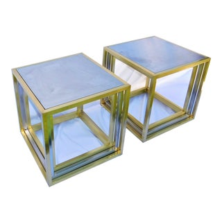 Modern History Rothko End Tables - a Pair For Sale