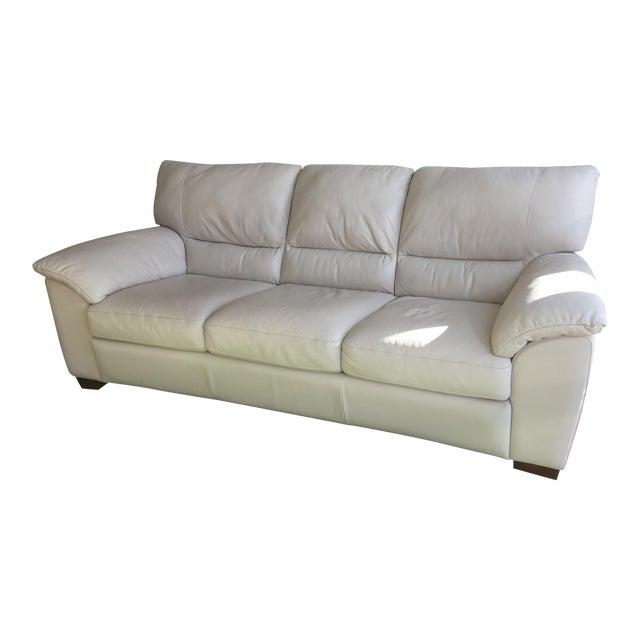 Natuzzi Edition Donato 3-Seater Leather Sofa