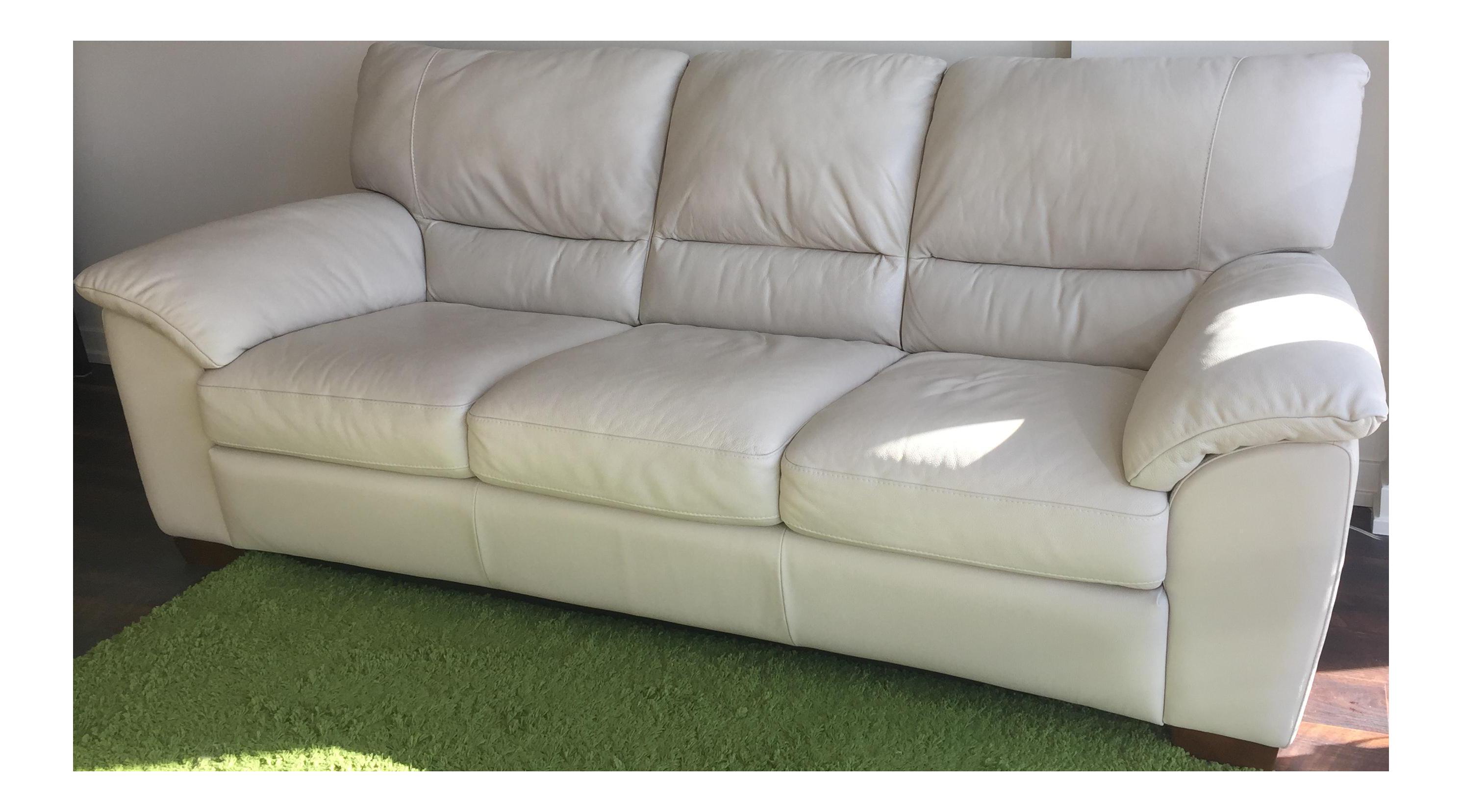 Natuzzi Edition Donato 3 Seater Leather Sofa