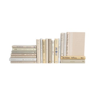 Pocket-Sized Modern Neutral Mixed Books - Set of 20