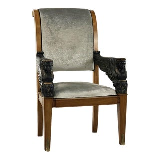 Armchair Style Empire First 900 For Sale