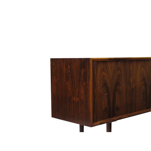 Mid 20th Century Arne Vodder for P. Olsen Sibast Mobler Rosewood Tambour Credenza Sideboard For Sale - Image 5 of 10