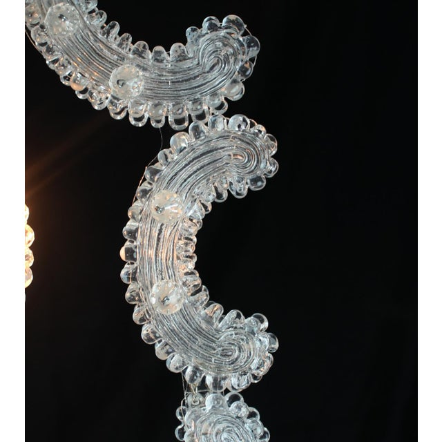 2010s Venetian Glass Pendant Lantern For Sale - Image 5 of 9