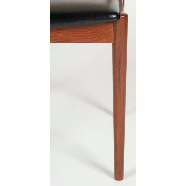 Model W26 Teak Chairs by Erik Worts - Set of 4 For Sale - Image 9 of 12