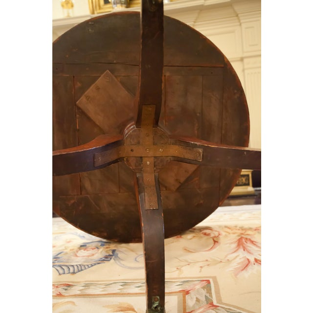 Regency Drum/Rent Table, England Circa 1815 For Sale - Image 11 of 13
