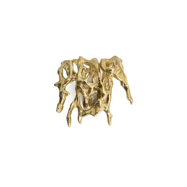 Contemporary Toile Oc2025 Drawer Handle From Covet Paris For Sale - Image 3 of 3